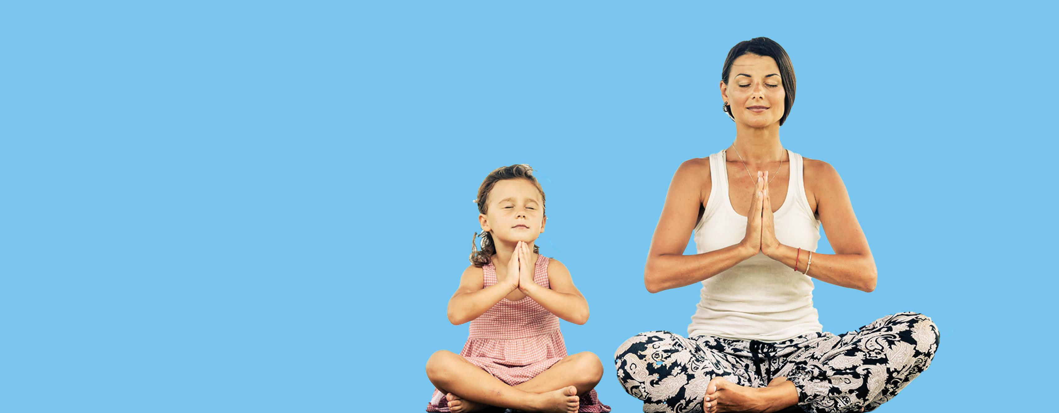Ouder Kind Yoga bij Yogaplaza