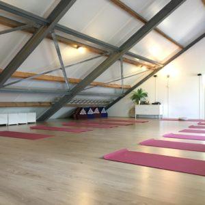 Yogastudio Yogaplaza in het centrum van Delfgauw